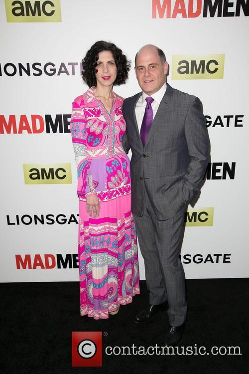 Linda Brettler and Matthew Weiner 2