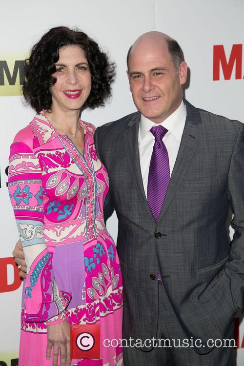 Linda Brettler and Matthew Weiner 5