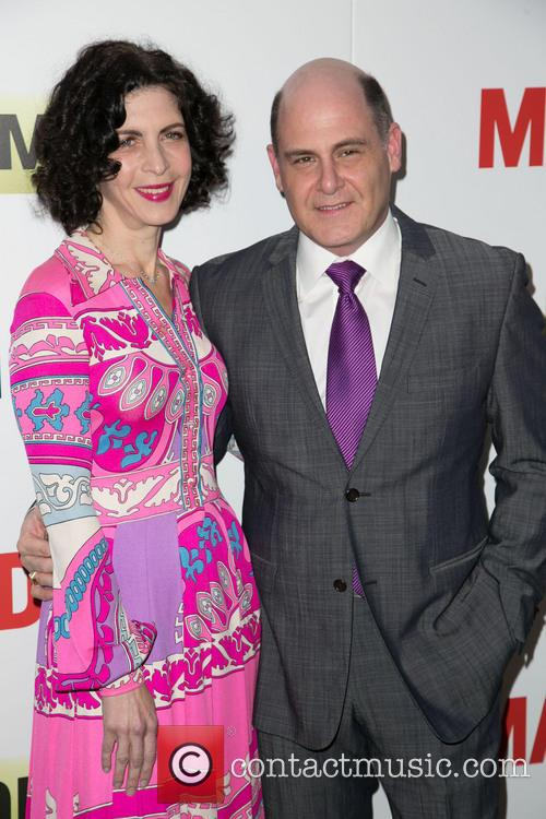Linda Brettler and Matthew Weiner 1