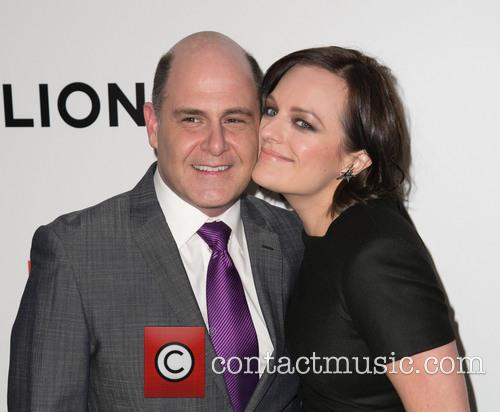 Matthew Weiner and Elisabeth Moss 2