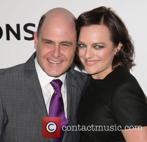 Matthew Weiner and Elisabeth Moss 4