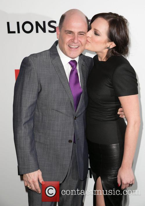 Matthew Weiner and Elisabeth Moss 5