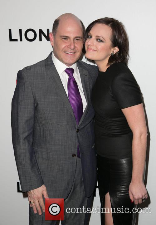 Matthew Weiner and Elisabeth Moss 8