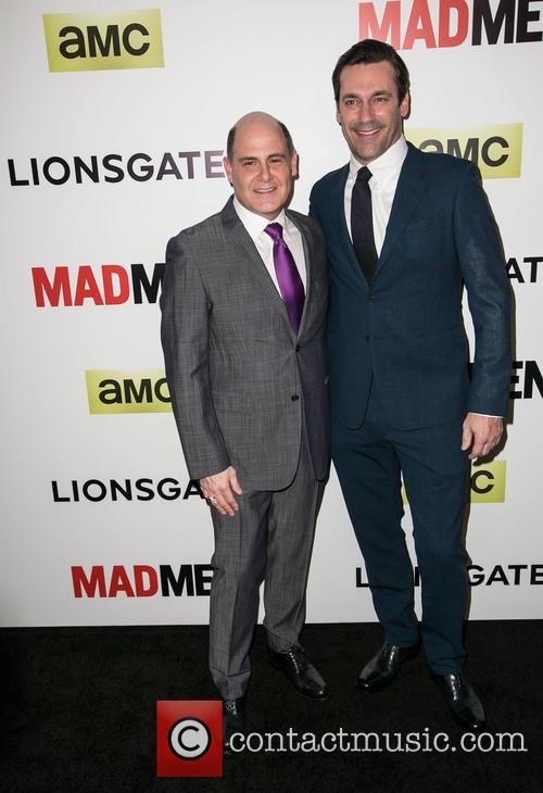 Matthew Weiner and Jon Hamm 6