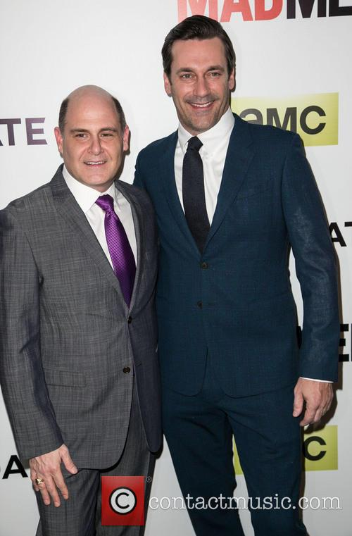 Matthew Weiner and Jon Hamm 9