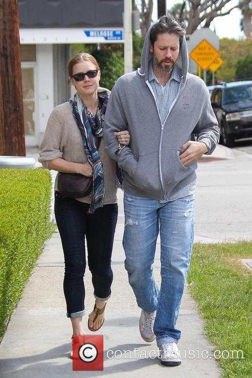 Amy Adams and Darren Le Gallo Walking Arm...
