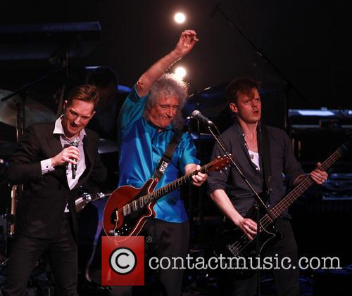 Brian May, Dan Gillespie Sells and Richard Jones 9