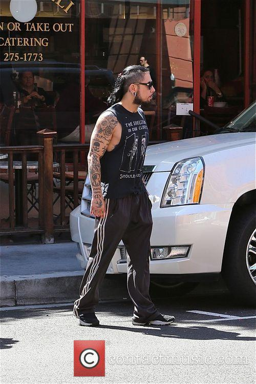Dave Navarro out and about in Los Angeles