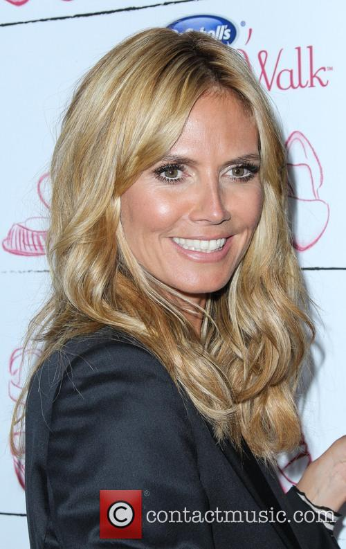Heidi Klum joins Dr. Scholl's to announce the...