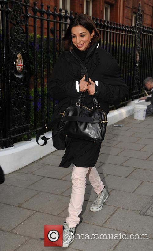 Celebrities arriving at Claridges