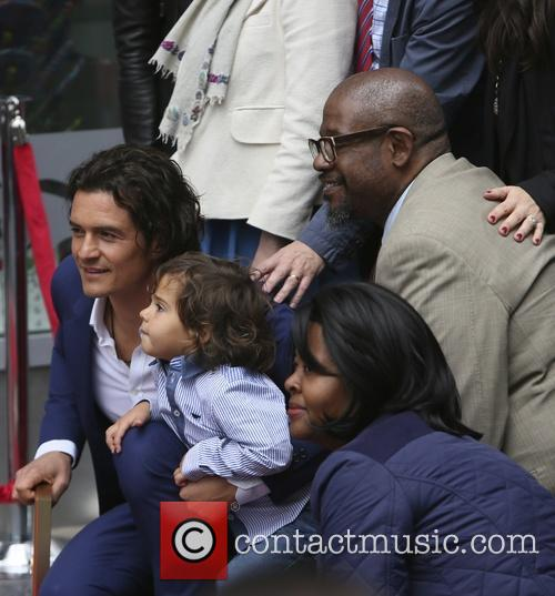Orlando Bloom, Flynn Bloom, Forest Whitaker, Hollywood Blvd