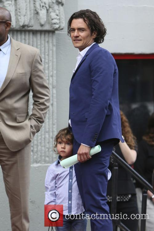 Orlando Bloom and Flynn Bloom 8
