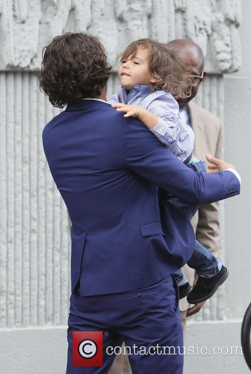 Orlando Bloom and Flynn Bloom 10