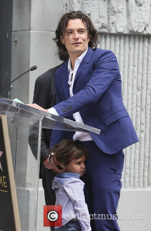 Orlando Bloom and Flynn Bloom 12