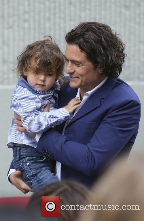 Orlando Bloom and Flynn Bloom 15