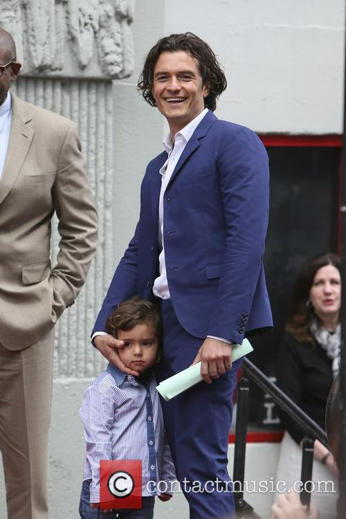Orlando Bloom and Flynn Bloom 19