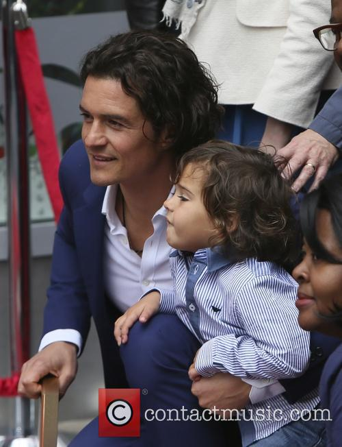 Orlando Bloom and Flynn Bloom 21