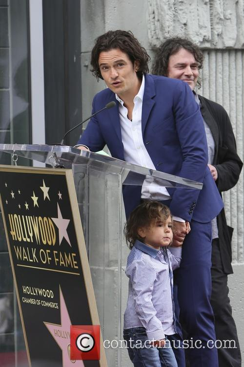 Orlando Bloom and Flynn Bloom 24