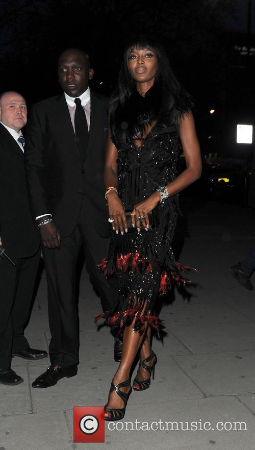 naomi campbell celebrities arriving at the glamour 4135191