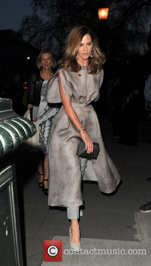 Celebrities arriving at The Glamour of Italian Fashion...