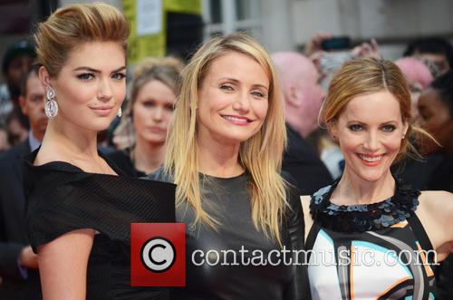 The Other Woman Kate Upton Cameron Diaz Leslie Mann UK Screening