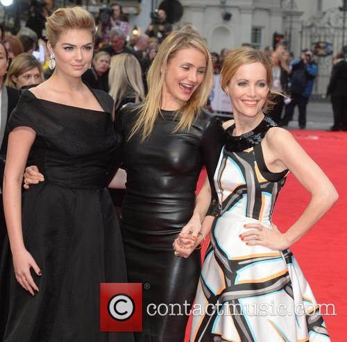 The Other Woman Kate Upton Cameron Diaz Leslie Mann Premiere UK