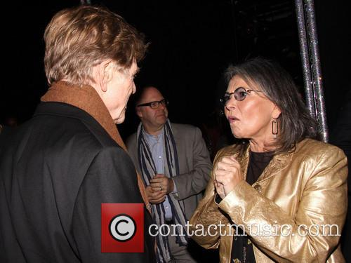 Robert Redford, Roseanne Barr, Brooks Atkinson Theatre,