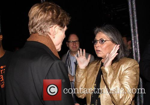 Robert Redford and Roseanne Barr 4