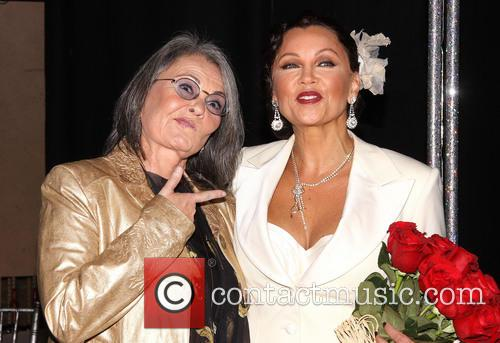 Roseanne Barr and Vanessa Williams 8