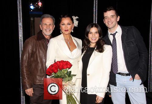 Tony Plana, Vanessa Williams, America Ferrera and Michael Urie