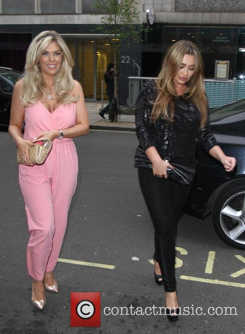 Frankie Essex and Lauren Goodger