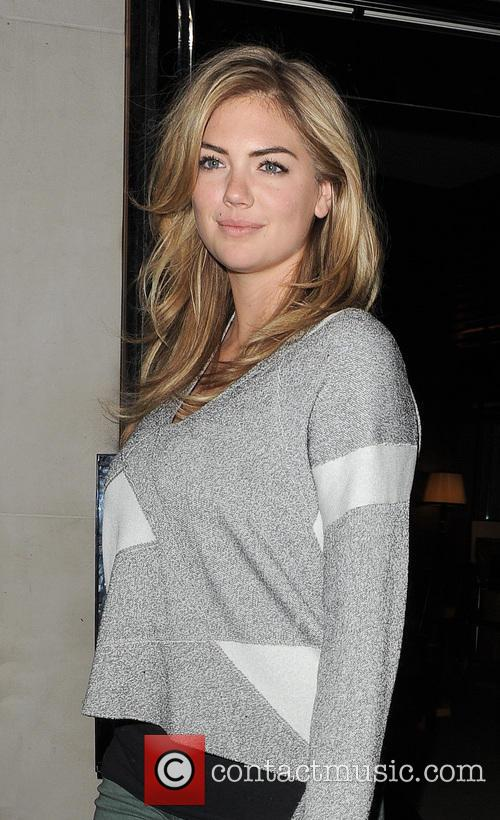 Kate Upton leaving her hotel, and heading for...