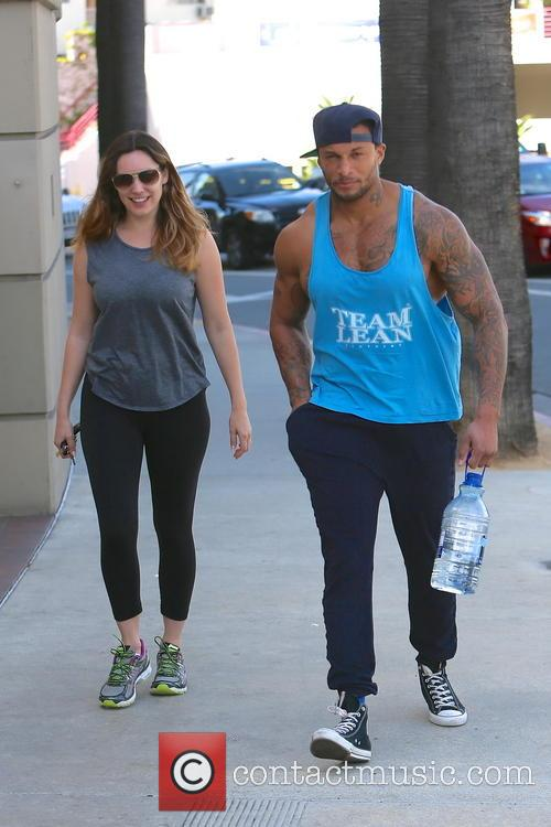 Kelly Brook and David Mcintosh 11