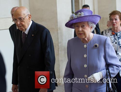 Queen Elizabeth Ii and President Giorgio Napolitano 3