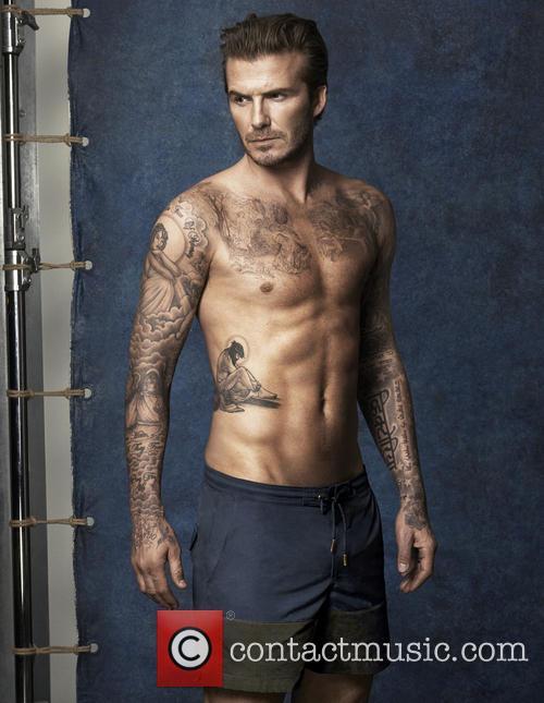 David Beckham unveils new swimwear collection for H&M