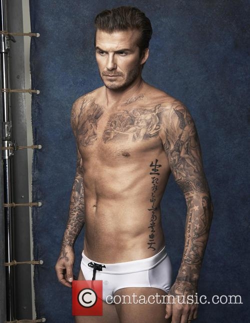 David Beckham unveils new swimwear collection for H&M