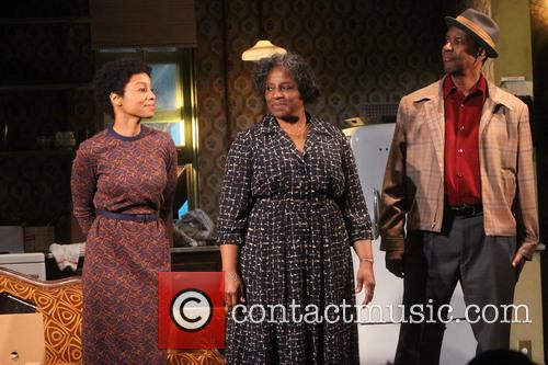 Anika Noni Rose, Latanya Richardson Jackson and Denzel Washington 2