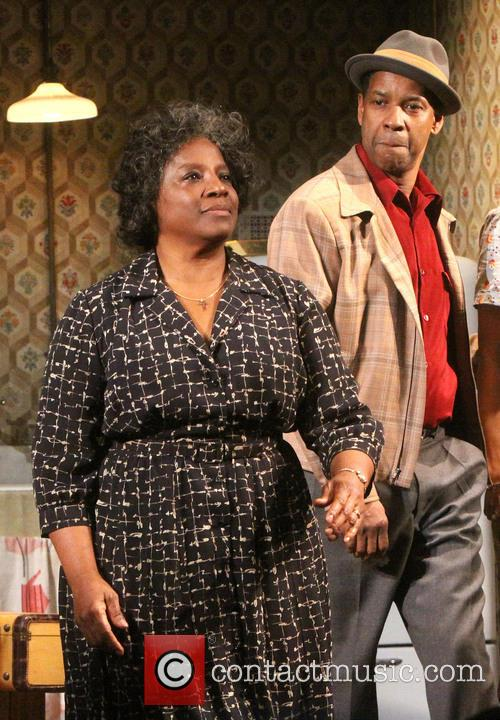 Latanya Richardson Jackson and Denzel Washington 4