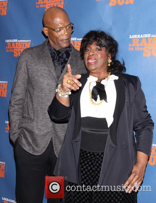 Samuel L. Jackson and Latanya Richardson Jackson 5