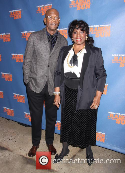 Samuel L. Jackson and Latanya Richardson Jackson 6