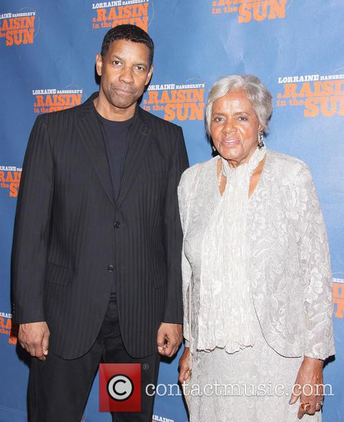 Denzel Washington and Mamie Hansberry Mitchell 7