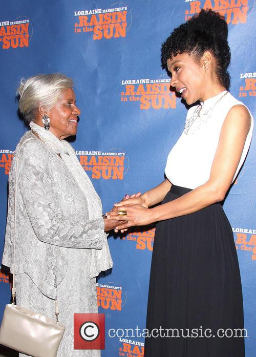 Mamie Hansberry Mitchell and Sophie Okonedo 9