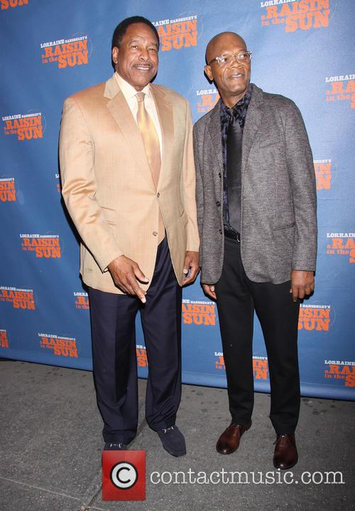 Dave Winfield and Samuel L. Jackson 1
