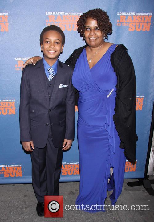 Darius Kaleb and Mom 1