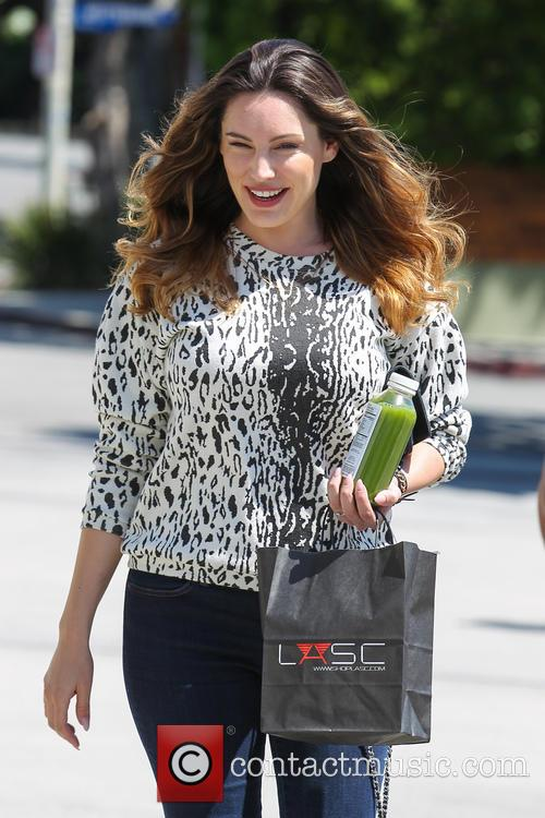 Kelly Brook and fiance David Mackintosh Shopping In...