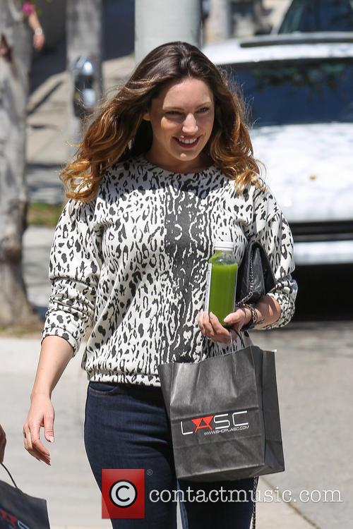 Kelly Brook and fiance David Mackintosh Shopping In West Hollywood