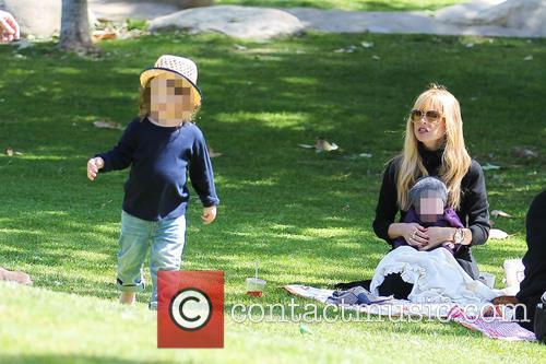 Rachel Zoe, Kaius Berman and Skyler Berman 6