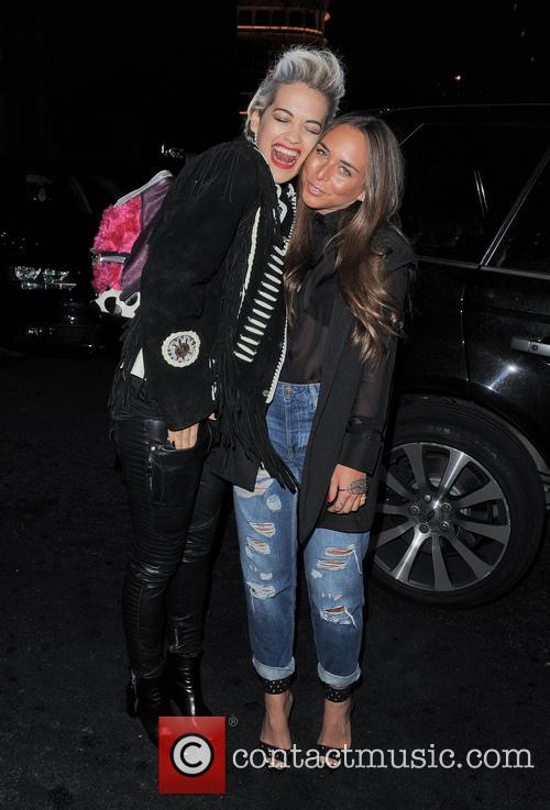 Rita Ora and Chloe Green 5
