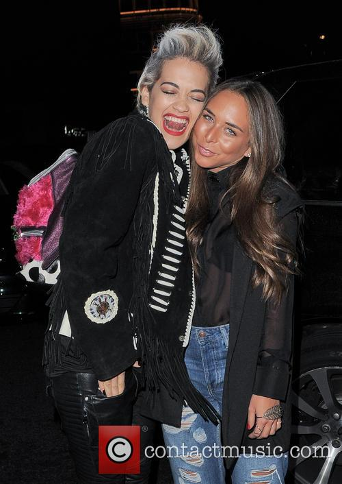 Rita Ora and Chloe Green 10