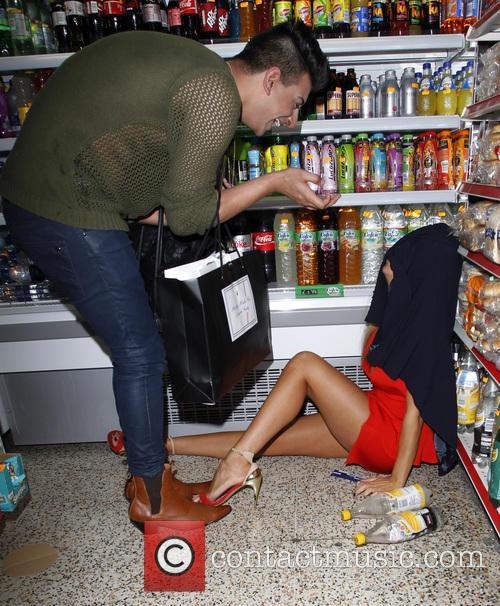 Aisleyne Horgan-Wallace drunken night out